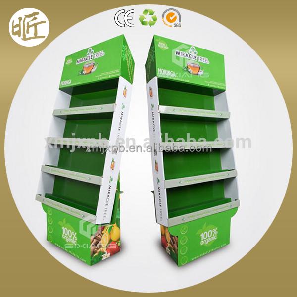 CMYK Printing Cardboard Counter Shop Retails Door Lock Display Stands