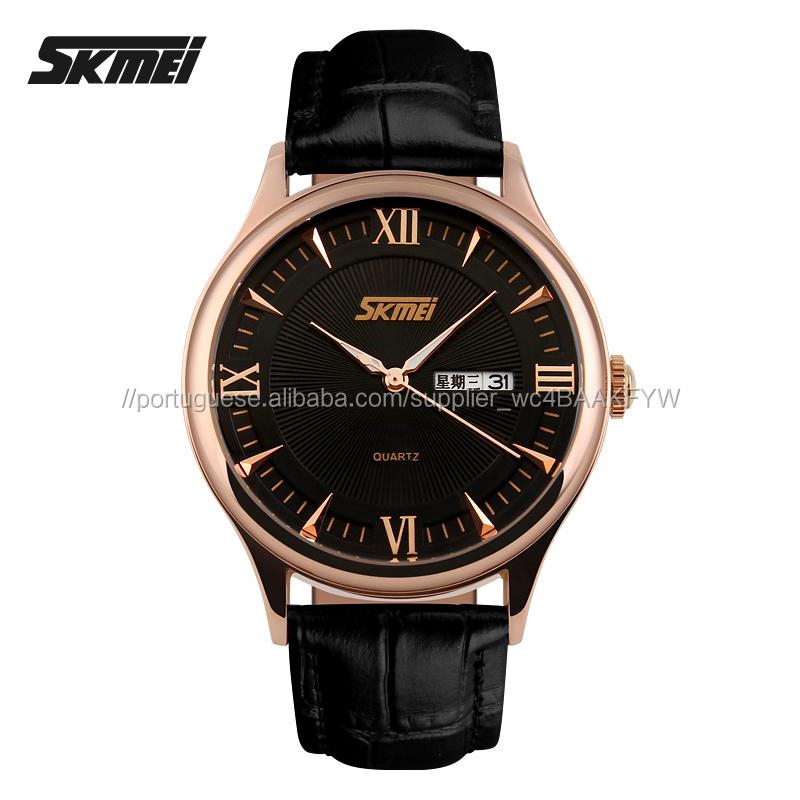 0f898aafd9f Relogios de grife originais nobre relógio de couro de negócios projetado  para ...