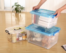 Best seller professional made clear/transparent 50L plastic storage boxes
