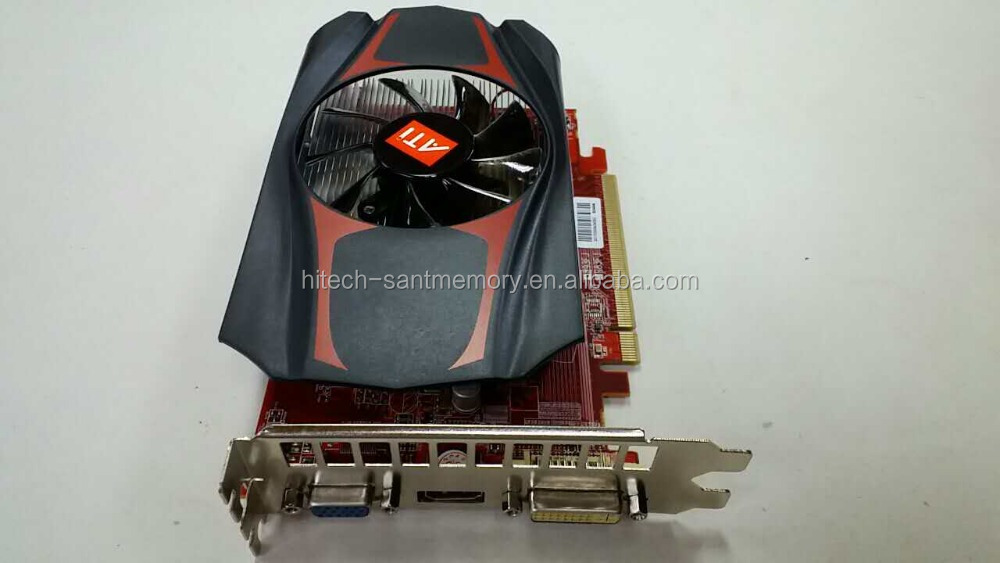 Graphics video card alibaba stock hot sale AMD HD7670 DDR5 1GB 128bit