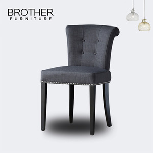 Wholesale fabric tub chair living room furniture accent chair with pull ring