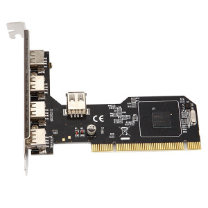 Diewu NEC720101 PCI to 5 ports USB2.0 4+1 USBexpansion card