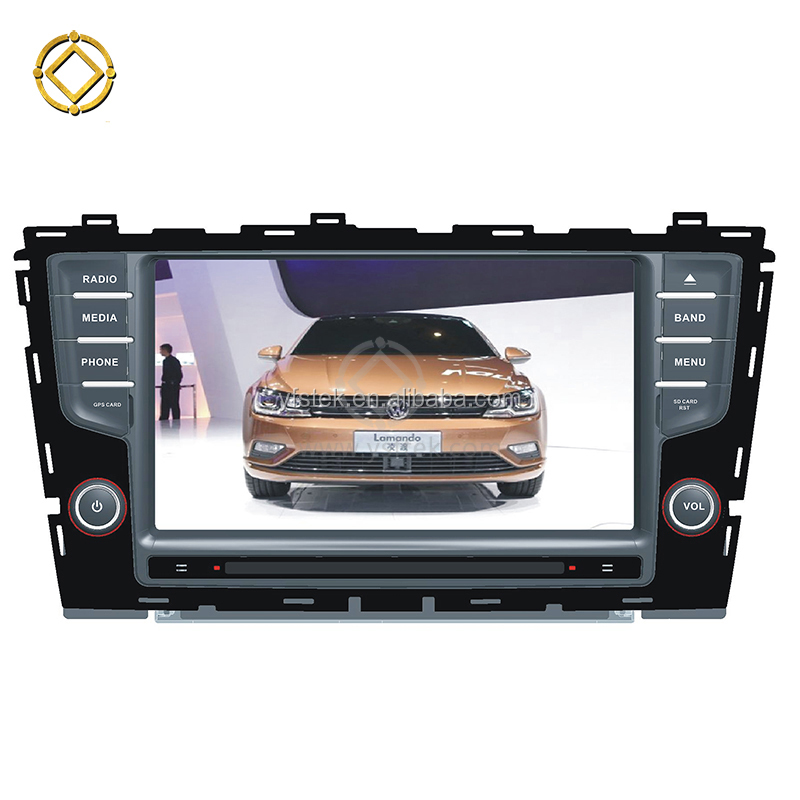 2G RAM 2+16G Android 7.1 DVD Car Cassette Player for Lamando VW 2015+ Autoradio Multimedia 1024*600 screen WIFI