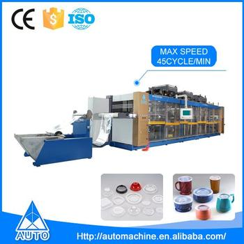 Multi-Station DW4-78 High-speed Automatic Plastic Thermoforming Machine