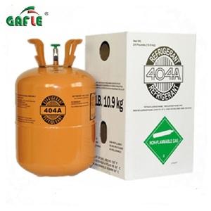 Pure 10 9kg/24lb r404a refrigerant gas manufacture OEM