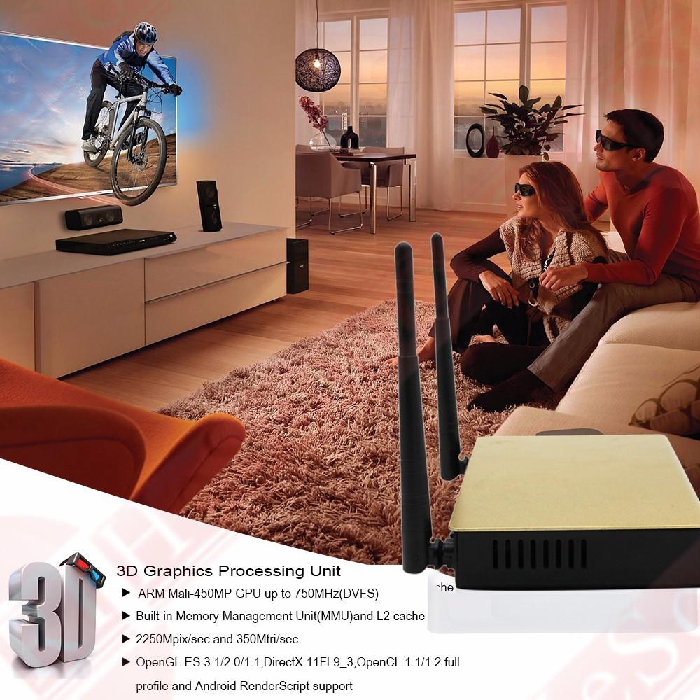 Full HD 1080P Porno Sexo vídeo Android TV Box Con Rk3128 Quad Core 1 GB de RAM de 8 GB Rom-3514