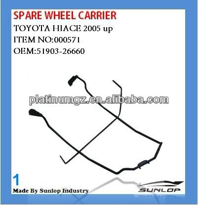 Hiace reservewiel carrier band drager voor hiace 51903-26660