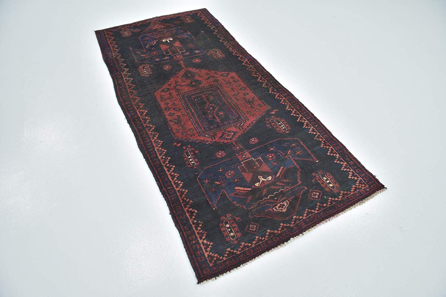 Get Quotations Medallion Traditional Hand Knotted Wool 3 Feet By 8 X