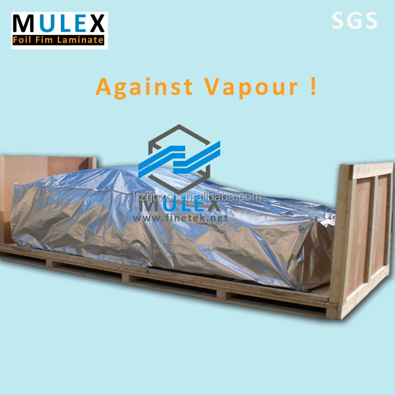 Heavy duty moisture barrier bags Large Pouch Laminated aluminum foil bags stand up aluminum foil vacuum bag for large equipment