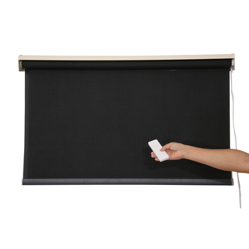 Chinese Supplier Tubular Motor Motorized Blinds Intelligent Remote Control Electric Roller Blinds