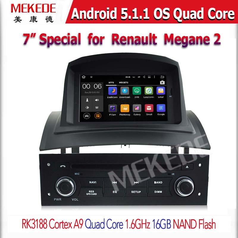 7  U0026quot Car Stereo Navegaci U00f3n Gps Autoradio Multimedia Reproductor De Dvd Para Renault Megane Ii 2
