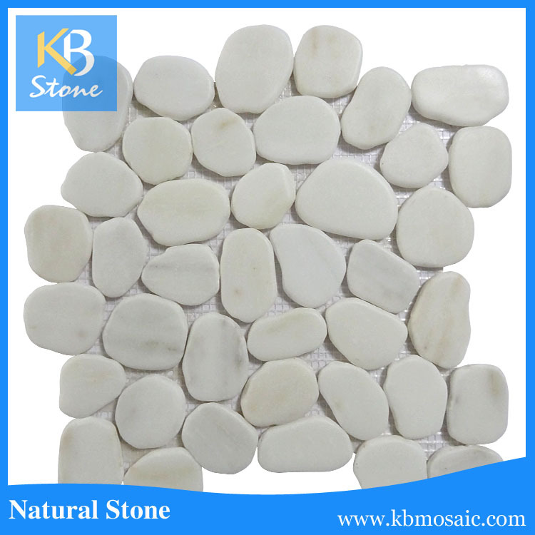 Australia hot sale natural stone round <strong>pebble</strong> stone mosaic <strong>tile</strong>