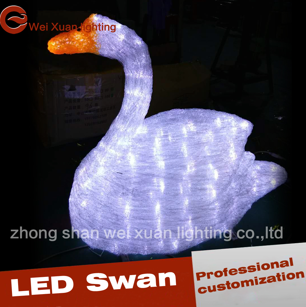 Lighted christmas duck outdoor yard decor - Lighted Swan For Outdoor Decoration Lighted Swan For Outdoor Decoration Suppliers And Manufacturers At Alibaba Com