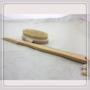 Best selling easy to use removable bath body brush in long handle
