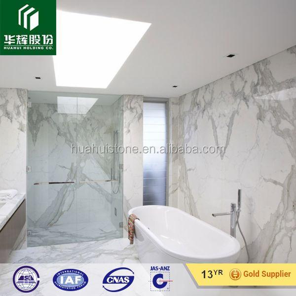 Ba o azulejos calacatta m rmol blanco m rmol for Bano marmol blanco