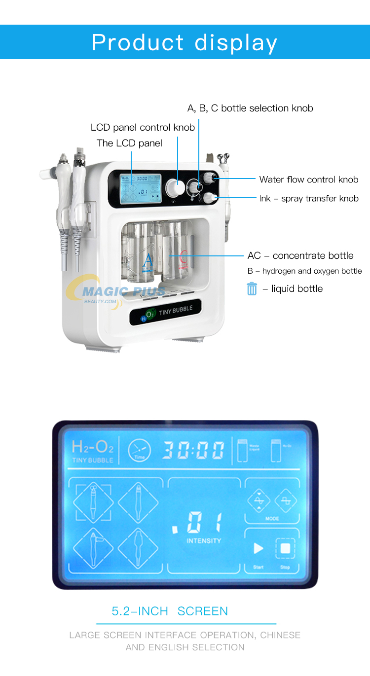 Korean Beauty Machine Diamond Hydro Dermabrasion Skin Care Facial Machine
