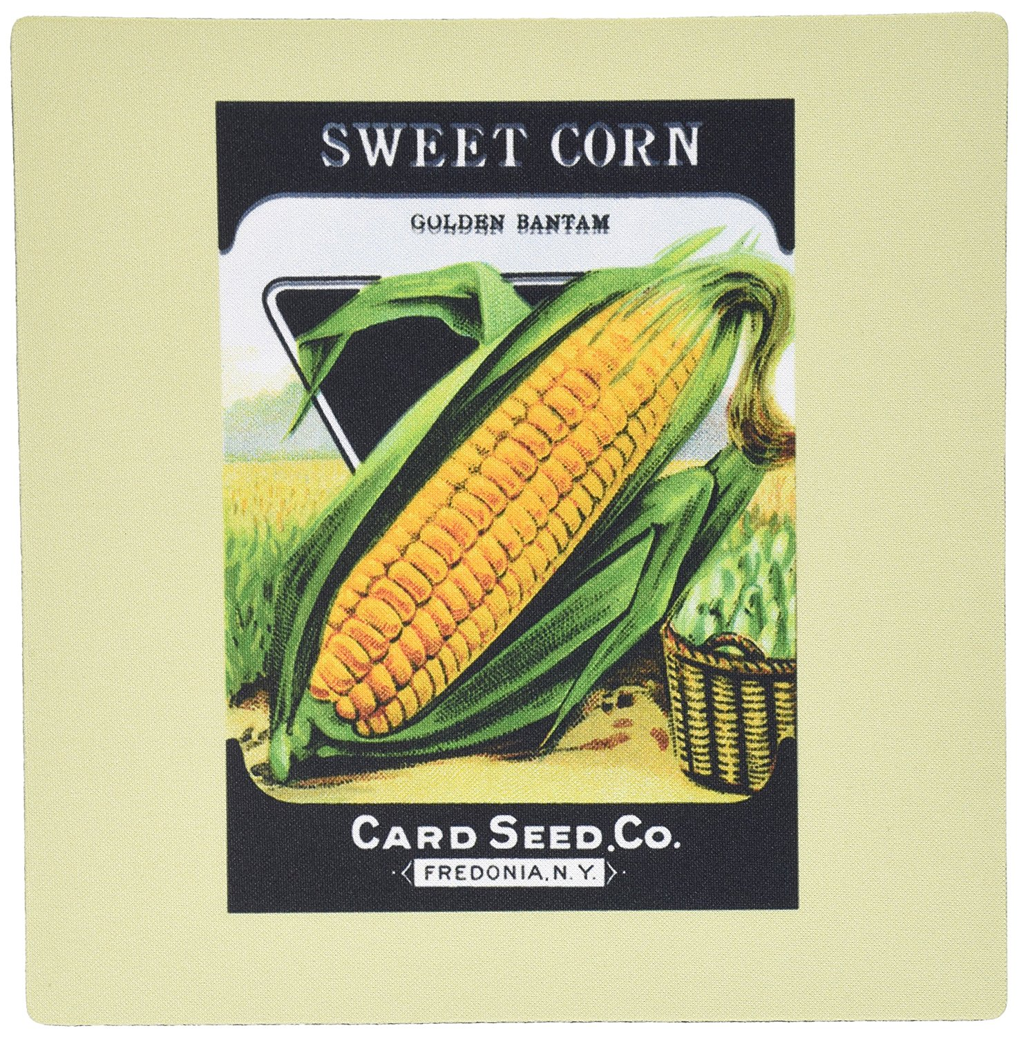 Get Quotations Rose Llc 8 X 0 25 Inches Mouse Pad Sweet Corn Golden Bantam Card