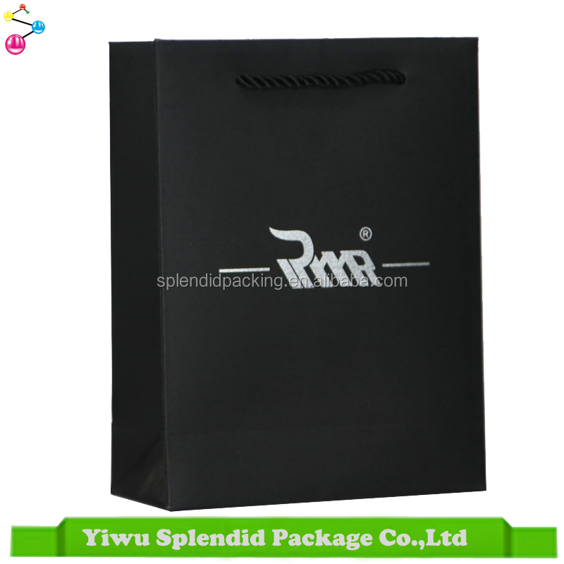 Offset Printing Surface Low Cost Custom Logo Printing Package Paper Bag