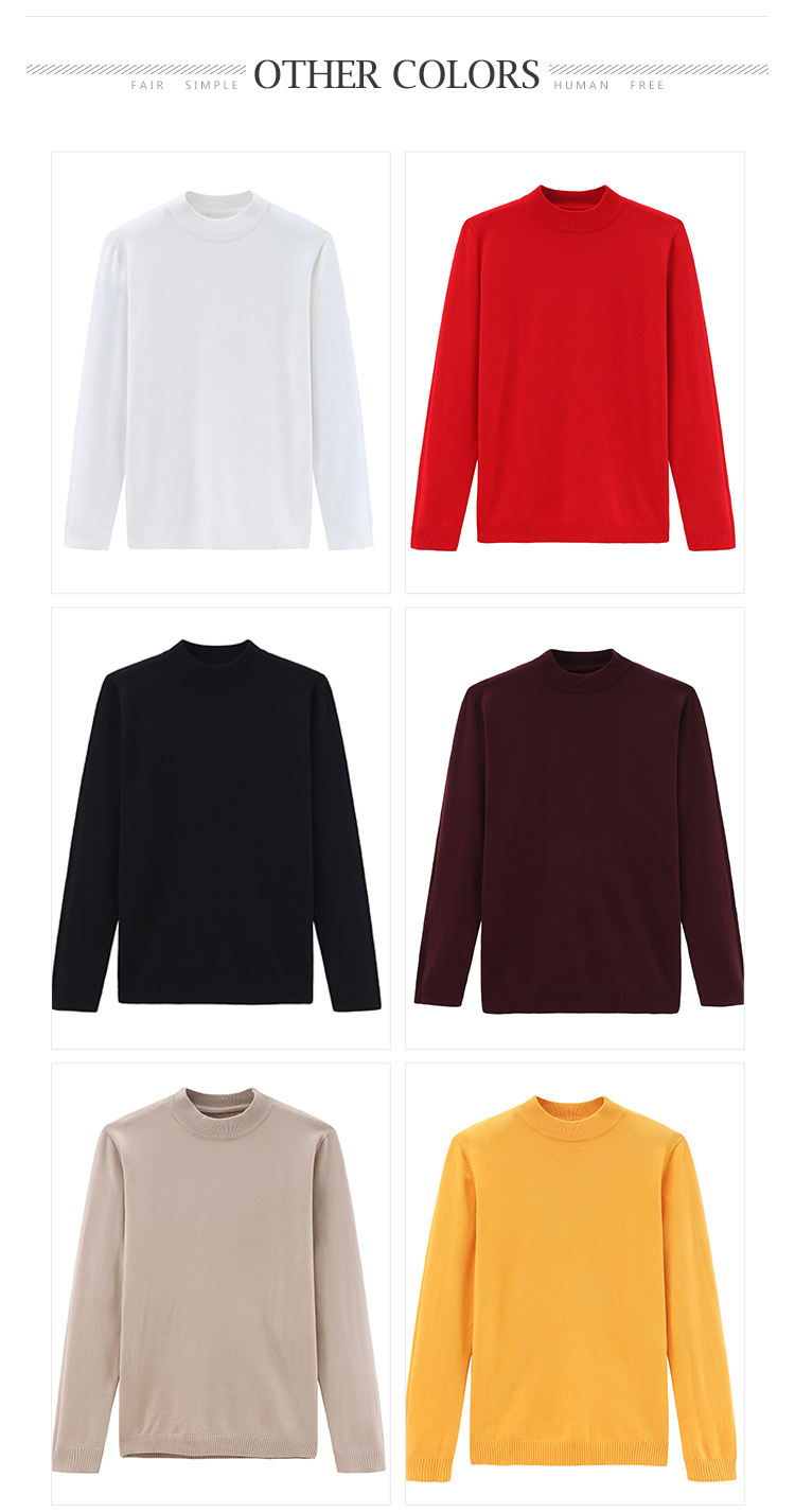 knit latest designs autumn winter crew neck casual knitted pullover men sweater