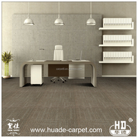 Nylon Soundproof Office Floor Carpet Tiles with PU PVC Backing Design