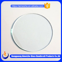 High quality cheap round picture frame glass