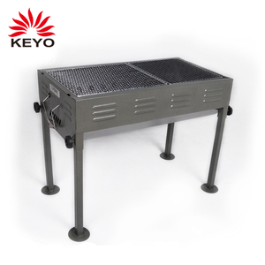 Easily Cleaned And Assembled Commercial Equipment Large Barbecue Charcoal Grill BBQ Outdoor Charcoal Barbeque Barrel Grill