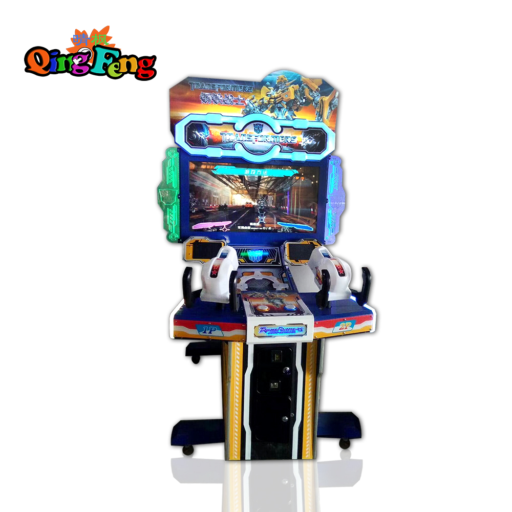 Qingfeng 2017 carton fair 42 inch coin operated electronic classic shooting arcade games for sale