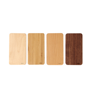 factory wholesale custom logo powerbank wood 4000mah battery charger power bank