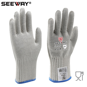 Seeway Cut Resistant Glass Cutter Gloves for Food Handling