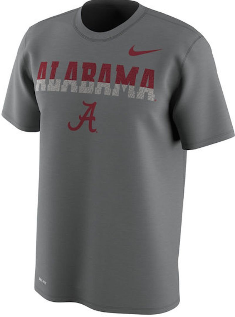 88056b77d1 Get Quotations · Alabama Crimson Tide Nike Train Speed 4 Week Zero College  Collection T-Shirt