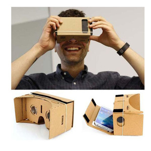New products craft paper google cardboard 3D VR glasses packaging box