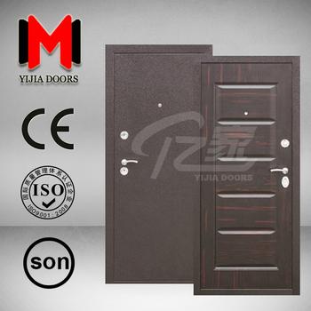 steel security door. YIJIA Russian Morden Deisgn Steel Security Door, Metal Door ,YJRH36