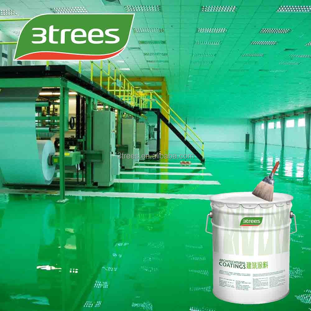 3trees Anti-static With Thin Application Parkinglot Epoxy Floor ...
