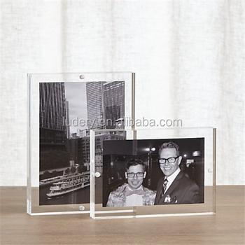Magnetic Acrylic Frame 4x6,Acrylic Magnetic Photo Block,Magnet ...