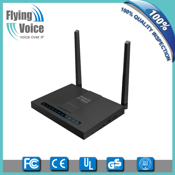 Wireless Voice gateway built in 4G lte module for carrier market FWR7202