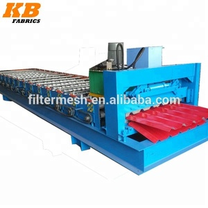 0.3-0.7mm thickness metal roof step tile roll forming machine