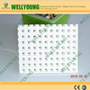 Non combustible fiber glass reinforced perforated gypsum board for ceiling