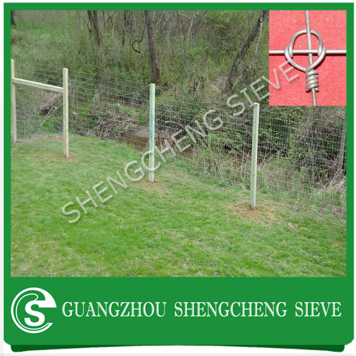 Cheap field dog fence galvanized pig fence wire mesh deer farm fencing