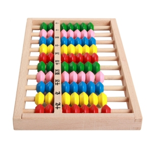 New product children study tool classic type wooden kids abacus