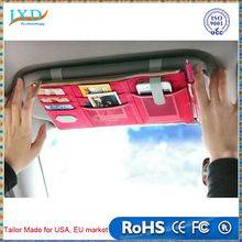 Multifunctional Sun Visor Storage Bag Car Notes Pouch CD Receive Bag DVD Disk Card Visor Case Holder Clipper Bag