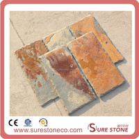 Natural Slate Roof Tiles, Different Colors Roofing Slate