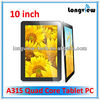 Allwinnr A31S Andriod 10 inch tablet pc quad core with hdmi input 1G/16G