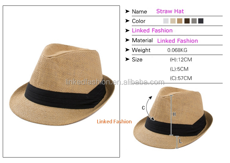 Promotion Good Quality Custom Made Panama Straw Hats For Man - Buy ... 9c66f73165d