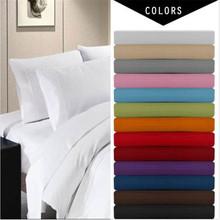 Jednofarebné obliečky aj s prosteradlom