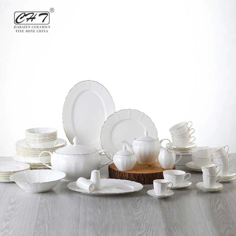 European Style Porcelain Dinnerware Set 72 Pcs Dinner Set For Restaurant - Buy Dinnerware Set 72 PcsPorcelain Dinnerware SetEuropean Style Porcelain ... & European Style Porcelain Dinnerware Set 72 Pcs Dinner Set For ...