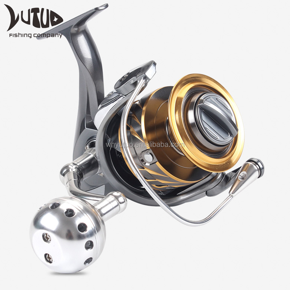 11+1BB All Metal Japan Spinning Fishing Reel Quality Saltwater Big Game Fishing Spinning Reel For Catfish Musky