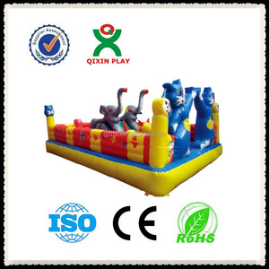 small pony inflatable bouncer for indoor selling in china