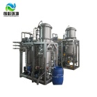 Small Sewage Plant China Supplier Industrial Waste water Electric Heating System Vacuum Evaporator