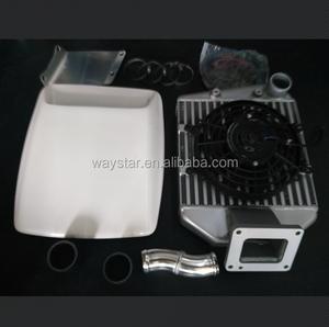 aluminum intercooler for Toyota Landcruiser 1HDT 1HDFT 1hd-ft