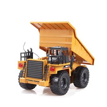 6 En De Huina Rc Tongli Camion Construction 1540 Benne Buy Voiture 118 Basculante Télécommande Alliage Échelle À Canaux Jouet PwnkO08